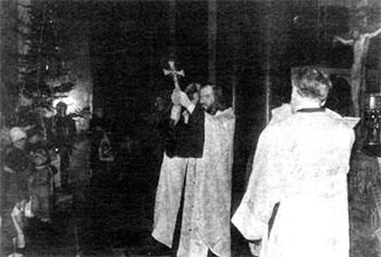 Казанский собор. Рождество Христово. Молебен в честь изгнания Наполеона в 1812 году из России.