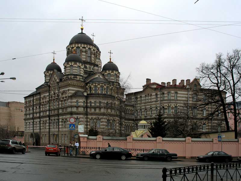 Женский монастырь св.Иоанна Рыльского (Иоанновский) на р.Карповке