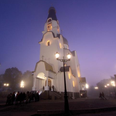 Храм свв. апп. Петра и Павла в г. Сестрорецке