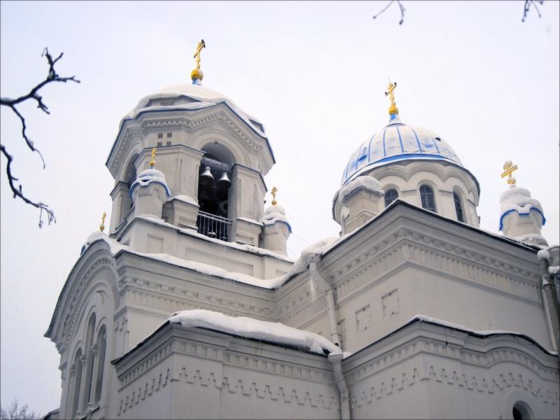 Храм Спаса Нерукотворного Образа в Парголово