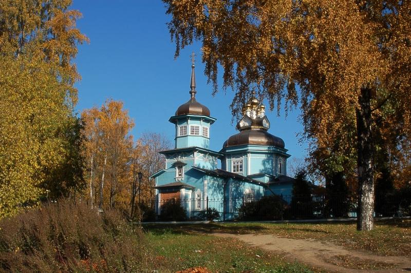 Храм св. вмч. Димитрия Солунского в Коломягах